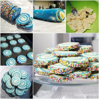 Wonderful DIY Fabulous Swirled Sugar Cookies