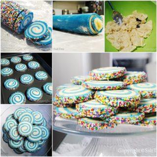 Wonderful DIY Fabulous Swirled Sugar Cookies