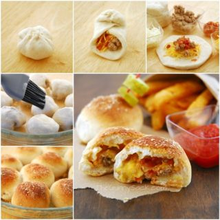 Wonderful DIY  Bacon Cheeseburger Pizza Balls