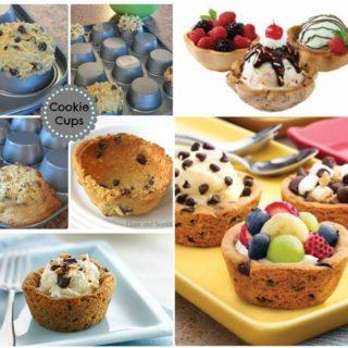 Wonderful DIY Edible Cookie Cups