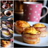 Wonderful DIY Egg And Bacon Muffin Cups