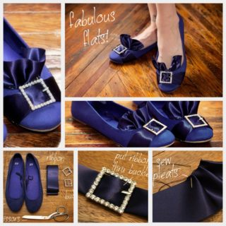 Wonderful DIY Refresh Pretty flat shoes