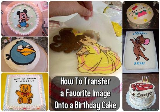 favorite image cake topper9 Wonderful DIY Favorite Image Cake Topper