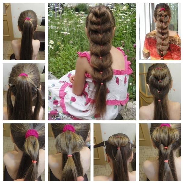 heart ponytail hairstyle F Wonderful DIY Pretty Heart Ponytail Hairstyle