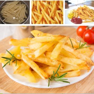 Wonderful DIY Homemade French Fries