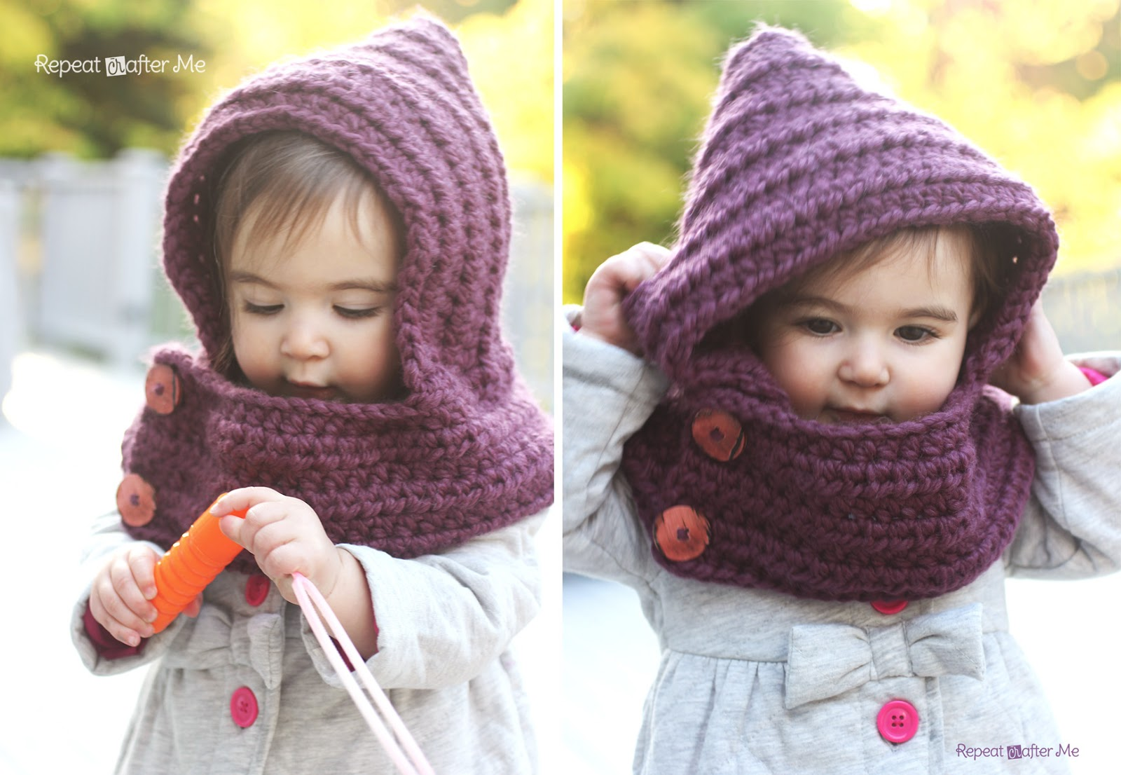 hooded cowl free pattern-wonderfuldiy3