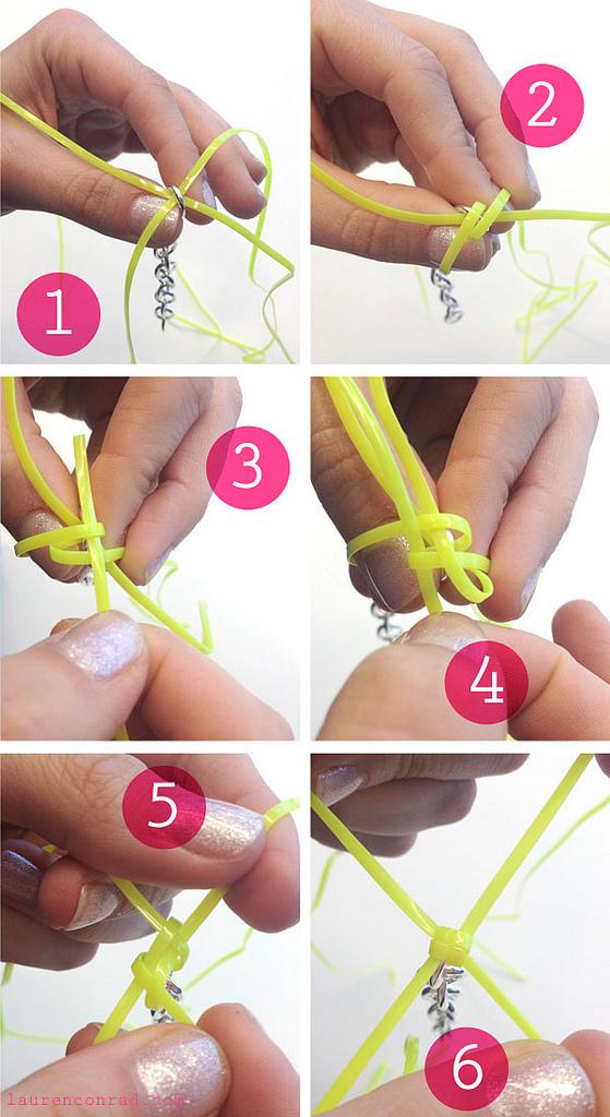 Wonderful Diy Colorful Lanyard Box Stitch Bracelet