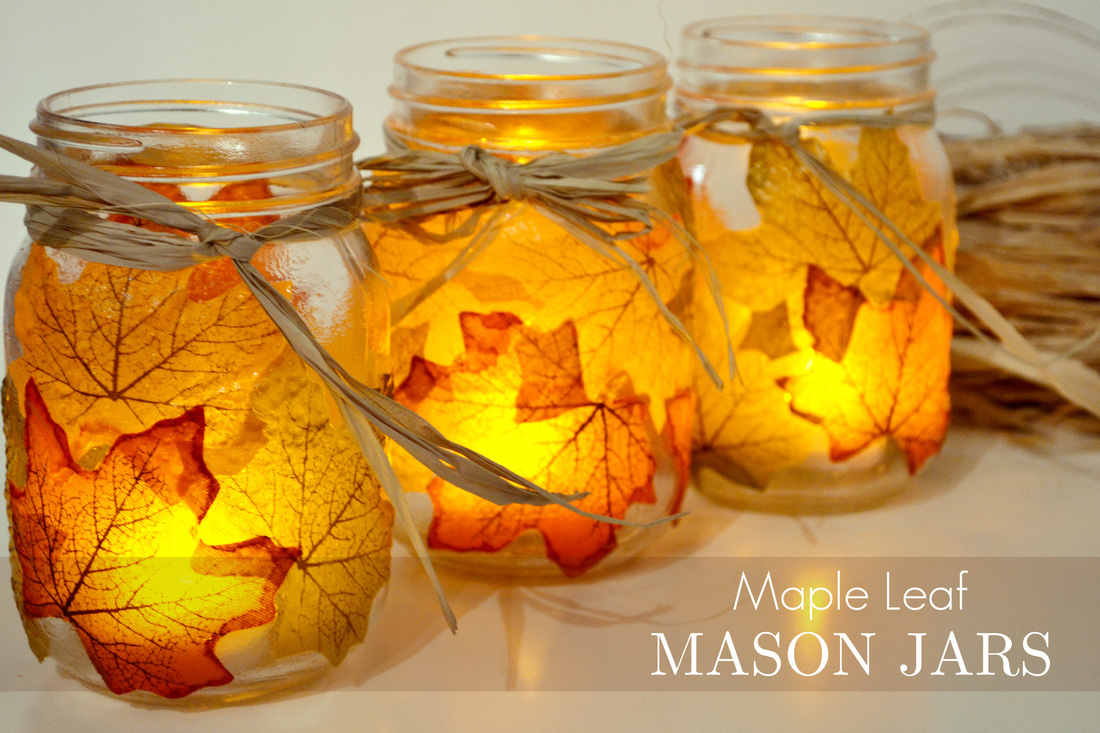 leaf mason jar candle holder from mason jar0 Wonderful DIY Pretty Leaf  Candle Holder