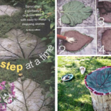 Wonderful DIY Leaf Shaped  Stepping  Stones