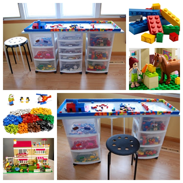lego table F DIY Lego Tables   Perfect for Kids of All Ages