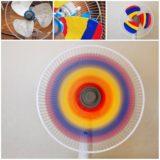 Wonderful DIY Cool Rainbow Fan