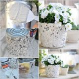 Wonderful DIY Unique Rock Planter