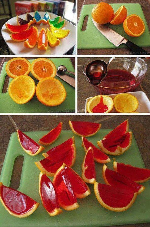 sparkling orange jello shots Wonderful DIY Sparkling  Orange Jello Shots