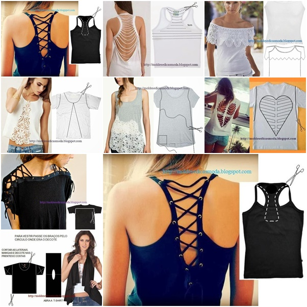 11wonderful Ideas to Refashion shirt into Chic Top F Wonderful DIY Tote Bag From Old Shorts