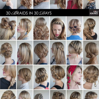 Wonderful 30 Ways for 30 Braids