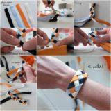 Wonderful DIY Pretty Flat Ribbon Bracelet