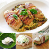 Wonderful DIY Bacon Wrapped Chicken Breasts Stuffed with Pesto and Cheese