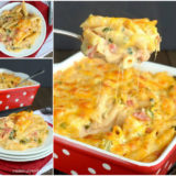 Wonderful DIY Delicious Chicken Bacon Pasta Bake