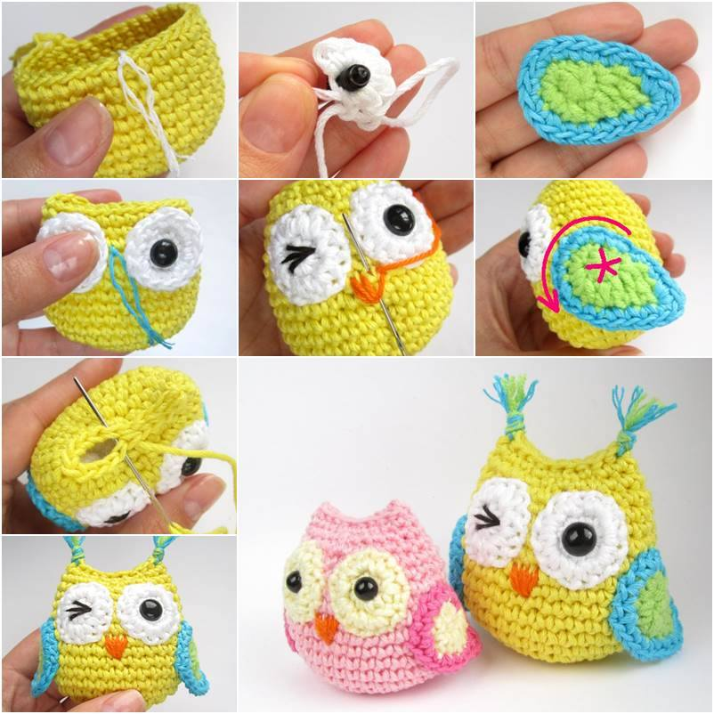 Crochet Baby Owl Cute Crochet Baby Owl with Free Pattern and Tutorial