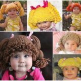 Crochet Cabbage Patch Doll Hat – An 80s Revival