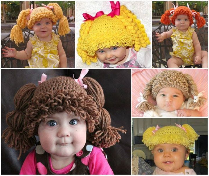 Crochet cabbage patch doll hat an 80s revival view in gallery crochet cabbage patch doll hat diy crochet cabbage patch doll hat an 80s revival dt1010fo
