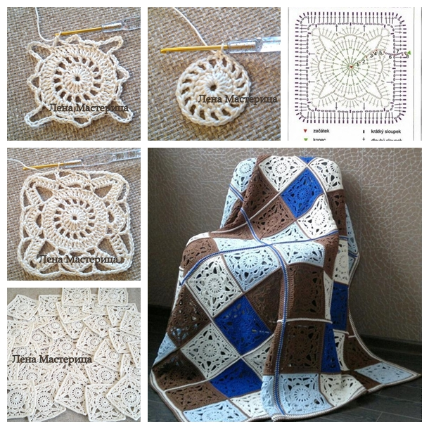 Muti Purpose Crochet Granny Squares Free Pattern And Guide