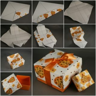 DIY Crafts Wonderful Pretty Origami Gift Box