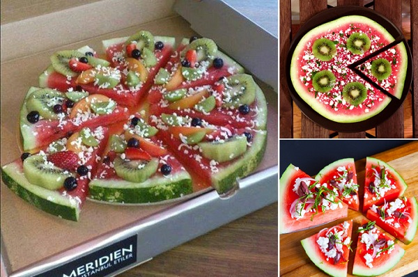 DIY Watermelon Pizza Wonderfu DIY  Delicious Watermelon Pizza
