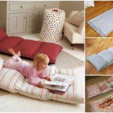 Wonderful DIY Pillow Mattress For Kids