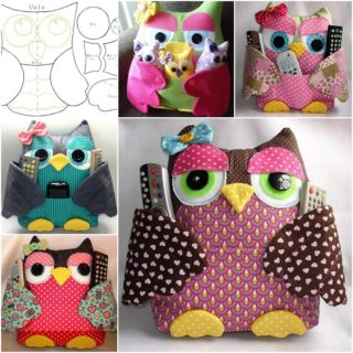 Fabulous Fabric Owl Pillow – Free Template and Guide