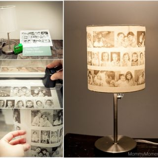 Wonderful DIY Lovely Family Photo Lampshade