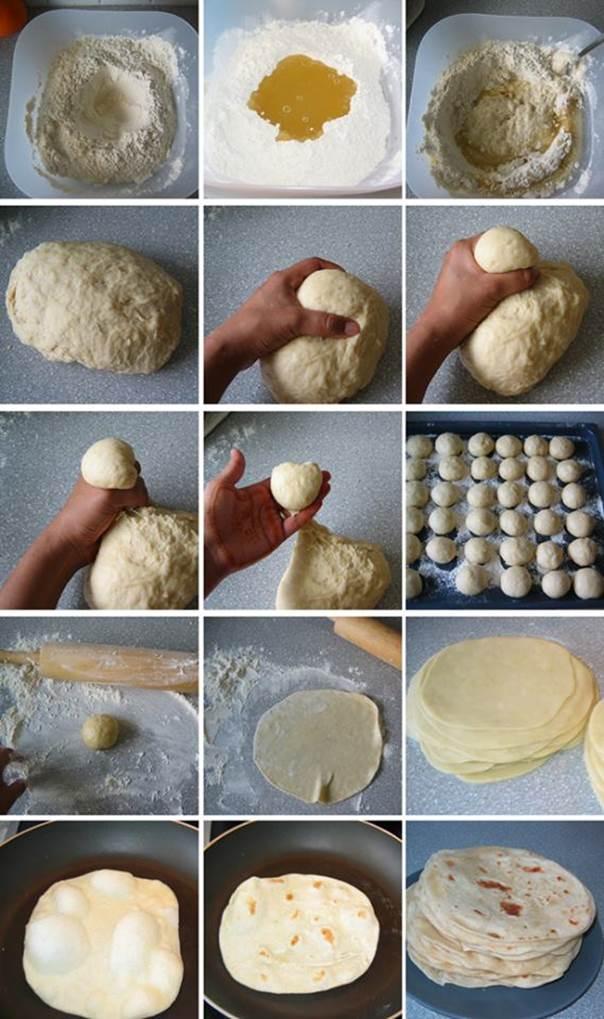 HOMEMADE Flour Tortillas  Wonderful DIY Homemade Flour Tortillas