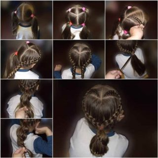 Wondeful DIY Sweet Heart Braid Hairstyle