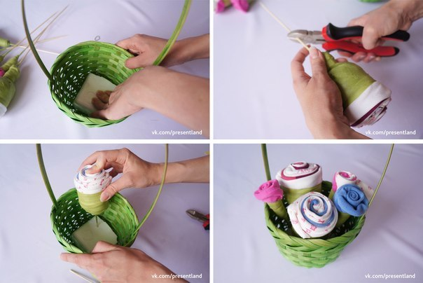 How-to-DIY-Baby-Clothes-Flower-Bouquet-5