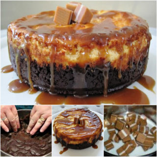 Wonderful DIY Sweet Jersey Caramel Cheesecake