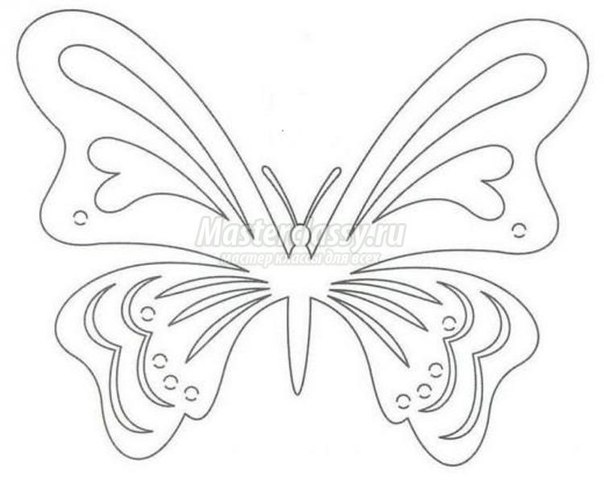 Kirigami  Greeting Card with Rose and Butterfly1
