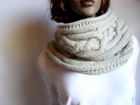 Knit Cowl Womens