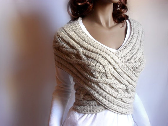 Knit womens sweater Knitted Womens Sweater Cowl Vest Pattern (Video Tutorial)