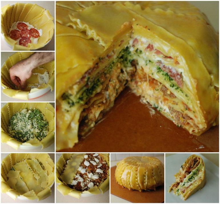 Lasagna-Timpano