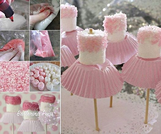 Wonderful Diy Cute Marshmallow Ballerinas