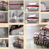 Wonderful DIY Cute Mini Fabric Tote