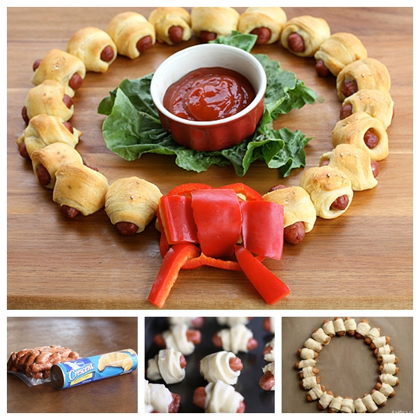 Mini Sausage Wreath F1 Wonderful DIY Mini Sausage Wreath