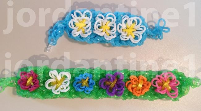 New Spring Flower Bracelet -