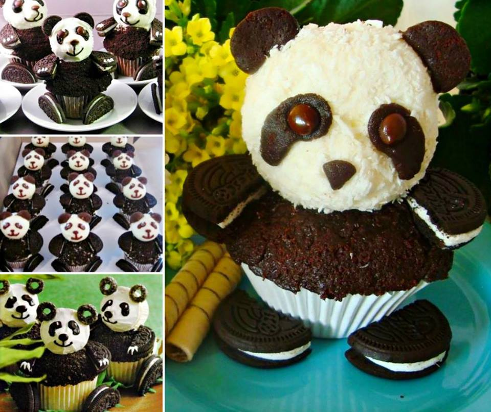 Oreo Panda Cupcakes Wonderful DIY  Sweet Panda CupCake
