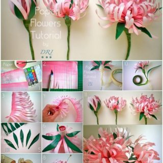 How to make paper flowers in 10 different ways diy crafts pretty diy paper flowers to make mightylinksfo