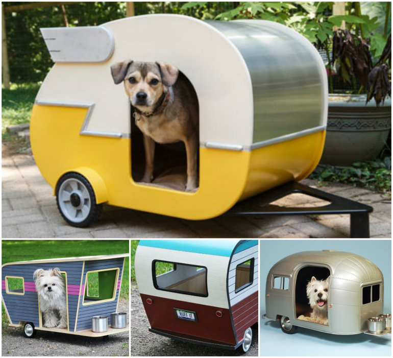 Pet Camper House  Wonderful DIY Adorable Pet Camper House