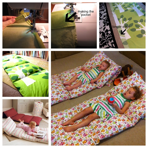 Pillow Mattress F Wonderful DIY Pillow Mattress For Kids