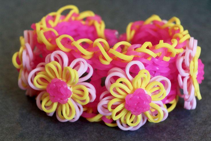 Pink-Lemonade-Dahlia-Bracelet