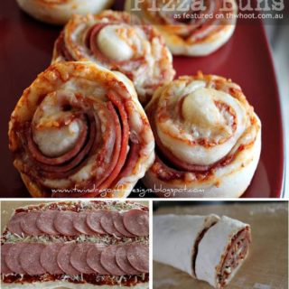 Wonderful DIY Quick Pizza Buns