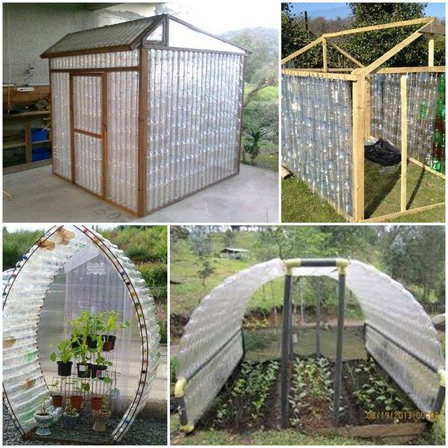 Plastic bottle green house F Wonderful DIY Plastic Bottles Green House